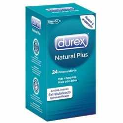 DUREX NATURAL PLUS 24 UNITS