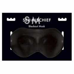 SEX & MICHIEF BLACKOUT MASK