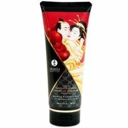SHUNGA MASSAGE CREAM KISSABLE WINE STRAWBERRY 200ML