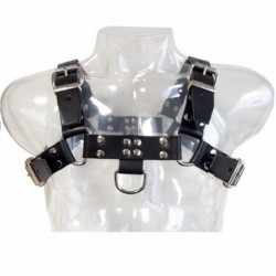 LEATHER BODY CHAIN HARNESS III