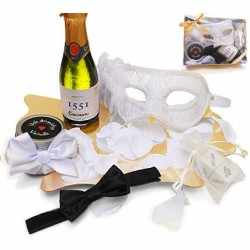 Erotic KIT WHITE Venetian Mask
