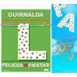 GARLAND HAPPY HOLIDAYS (Carton 220gr)