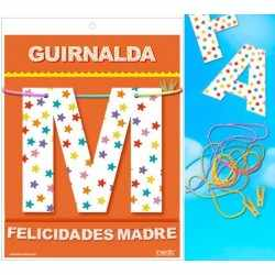 Garland congratulations mother (Cardstock 220gr)