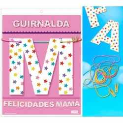 Garland congratulations breast (Cardstock 220gr)