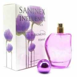PERFUME WOMAN PHEROMONES SANINEX INFLUENCE SEX.