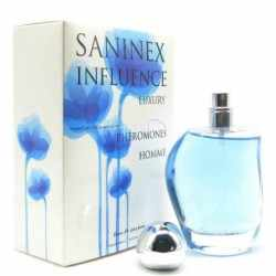 SCENT FOR MEN WITH PHEROMONES SANINEX INFLUENCE LUXURY.