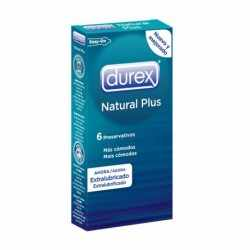 DUREX NATURAL PLUS 6 UNITS
