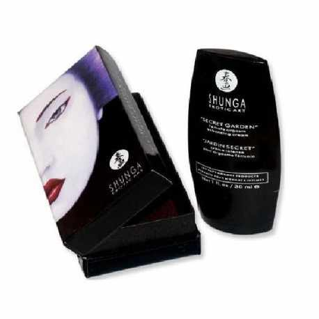 Buy the cream of Shunga secret garden for some female orgasms very intense.