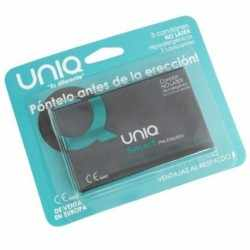 UNIQ SMART PRE-ERECTION FREE LATEX 3UDS