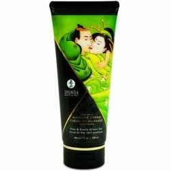 SHUNGA MASSAGE CREAM KISSABLE PEAR AND EXOTIC GREEN TEA 200ML