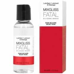 MIXGLISS FATAL SILICONE LUBRICANT VELVET ROSE 50 ML