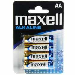 BLISTER MAXELL BATTERY AA LR6 * 4 EU