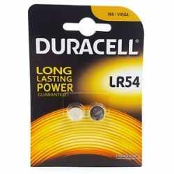 DURACELL alkaline battery lr44 1.5v button BLISTER*2