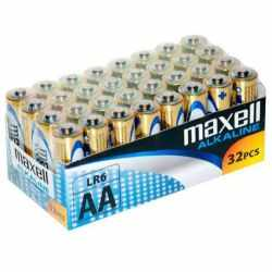 MAXELL AA Alkaline battery LR6 batteries PACK*32