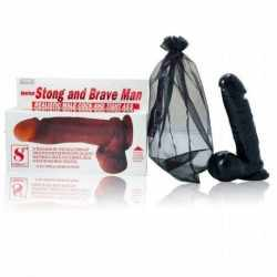 AMERICAN STRONG AND BRAVE MAN DILDO 19 CM