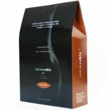 INTIMOCHIC DYE FOR THE PUBIC HAIR AND BODY / Chestnut