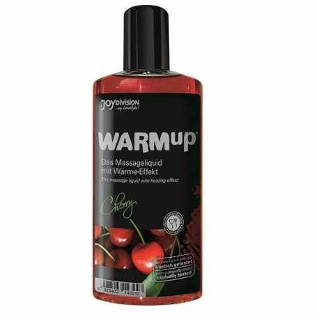 Massage Olie warmte-effect Cherry 150ML
