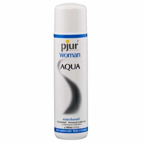 THE LUBRICANT MORE PURCHASED BY OUR CLIENTS IS THE PJUR WOMAN AQUA 100ML DESIGNED FOR THE SKIN SOFT AND SENCIBLE OF THEM