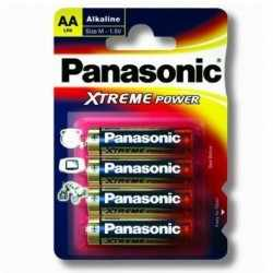 LR6/AA ALKALINE BATTERIES PANASONIC XTREME POWER