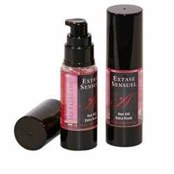 EXTASE SENSUEL HOT OIL EXTRA FRESH STRAWBERRY