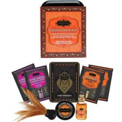 DAS KIT REGALATE WOCHENENDE KAMASUTRA WEEKENDER TIN KIT MANGO TROPICAL