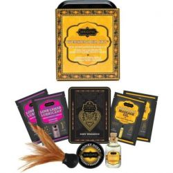 TREAT YOURSELF TO THE KIT WEEKEND OF KAMASUTRA WEEKENDER TIN COCONUT AND PINEAPPLE KIT