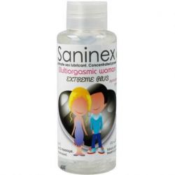 BUY THE LUBRICANT WATER BASED FOR WOMEN SANINEX MULTIORGASMIC EXTREME PLUS FOR LUBRICATION AND MASSAGE