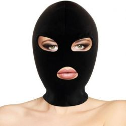 EXPERIENCE YOUR FETISH OR BDSM SIDE WITH DARKNESS SUBMISSION MASK MOUTH AND BLACK EYES