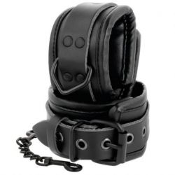 INMOBILIZA YOUR PARTNER WITH THESE WIVES OF HANDS BLACK DARKNESS ADJUSTABLE LEATHER