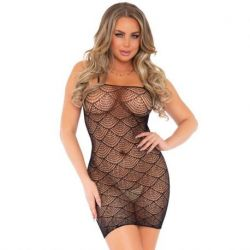 LEG AVENUE DRESS IN DESIGN ONE SIZE FITS ALL NETWORK SHELLS