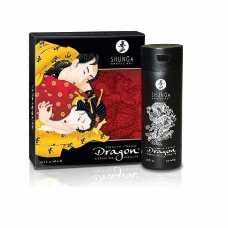 The SHUNGA DRAGON CREAM WILL ENHANCE YOUR ERECTION AND YOUR PARTNER SENCIBILIDAD TO CONTACT WITH YOUR MEMBER