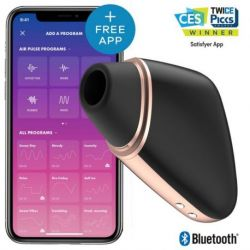 SATISFYER CONNECT ESTIMULADOR CLITORIS LOVE TRIANGLE BLACK