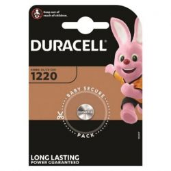 DURACELL LITHIUM BUTTON BATTERY CR1220 3V BLISTER * 1