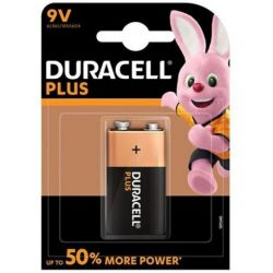 DURACELL PLUS POWER ALKALINE BATTERIE 9V LR61 BLISTER * 1
