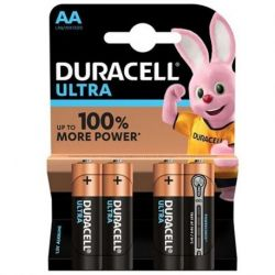 DURACELL ULTRA POWER ALKALINE BATTERIE AA LR6 BLISTER * 4