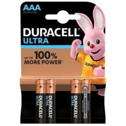 DURACELL ULTRA POWER ALKALINE BATTERIE AAA LR03 BLISTER * 4