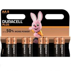 DURACELL PLUS POWER ALKALINE BATTERIE AA LR6 BLISTER * 8