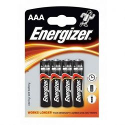 ENERGIZER ALKALINE POWER BATTERY AAA LR03 *4