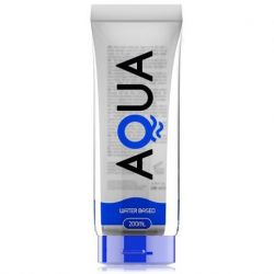 AQUA QUALITY WATER BASED LUBRICANT 200ML