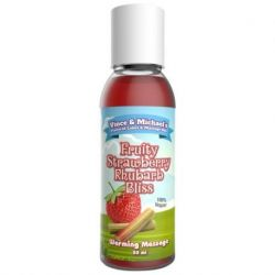 VINCEN & MICHAEL'S PROFESSIONAL STRAWBERRY AND RHIBARB OIL 50ML