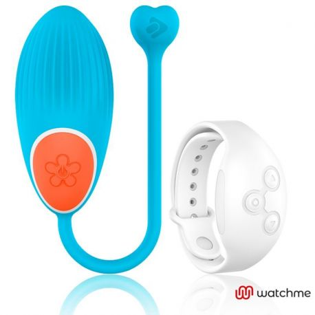 WEARWATCH EGG REMOTE CONTROL TECHNOLOGY WATCHME BLUE / WHITE