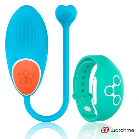 WEARWATCH EGG REMOTE CONTROL TECHNOLOGY WATCHME BLUE / GREEN